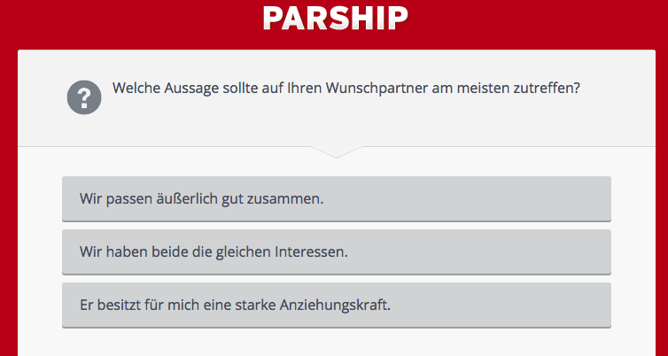 parship gut